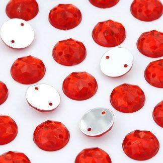 Dżet okrągły z dziurkami 10 mm (czerwony) - 2000 szt. najtaniej