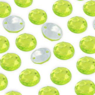 Dżet okrągły z dziurkami 10 mm (zielony) - 2000 szt. najtaniej