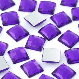 Dżety kwadratowe 10 x 10 mm (fioletowy) - 1000 szt. najtaniej