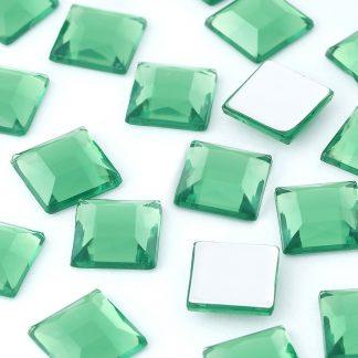 Dżety kwadratowe 10 x 10 mm (zielony) - 1000 szt. najtaniej