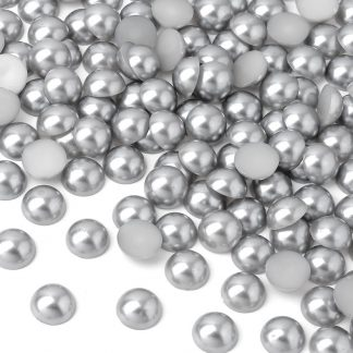 Półperełki okrągłe 10 mm (srebrny) - 2000 szt. najtaniej
