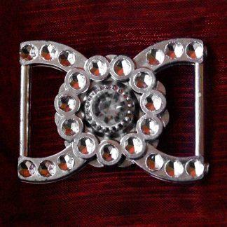400 szt. Klamra ozdobna (srebrna) BUC7.19 najtaniej