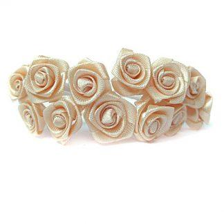 Róże satynowe (łososiowe) - 36 szt. najtaniej