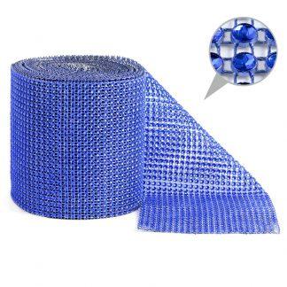 Taśma dekoracyjna 12 cm x 9m (niebieska) - 1 szt. najtaniej