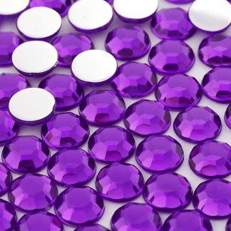 Dżet okrągły 14 mm (fioletowy) - 500 szt. najtaniej