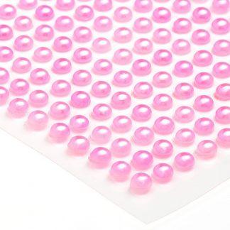 Półperełki okrągłe 5 mm (różowy) - 100 szt. najtaniej