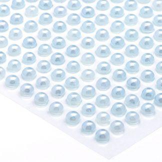 Półperełki okrągłe 5 mm (błękitny) - 100 szt. najtaniej