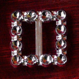 50 szt. Klamra ozdobna (srebrna) BUC2.12 najtaniej
