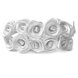 Róże satynowe (białe) - 36 szt. najtaniej