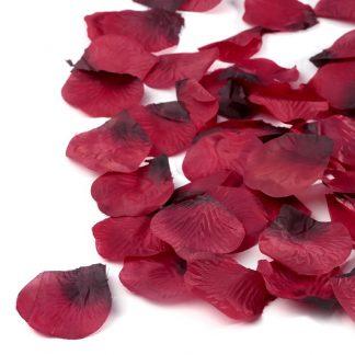 Płatki róż (bordowe) - 100 szt. najtaniej