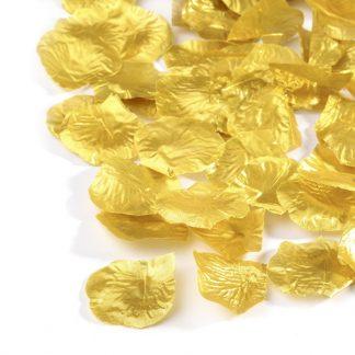Płatki róż (złote) - 100 szt. najtaniej