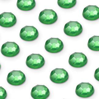 Cyrkonie okrągłe 3 mm (zielony) - 176 szt. najtaniej