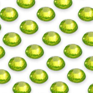 Cyrkonie okrągłe 4 mm (zielony) - 176 szt. najtaniej