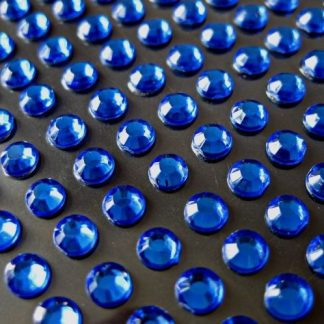Cyrkonie okrągłe 3 mm (niebieski) - 176 szt. najtaniej