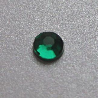 Cyrkonie okrągłe 2 mm (zielony) - 176 szt. najtaniej