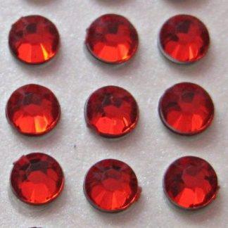 Cyrkonie okrągłe 2 mm (czerwony) - 176 szt. najtaniej