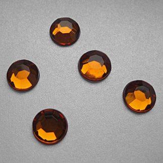 Cyrkonie okrągłe 2 mm (pomarańczowy) - 176 szt. najtaniej
